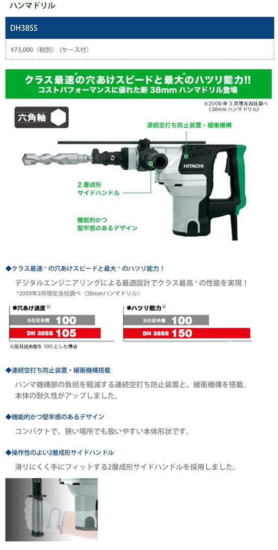 DH38SS 商品詳細説明
