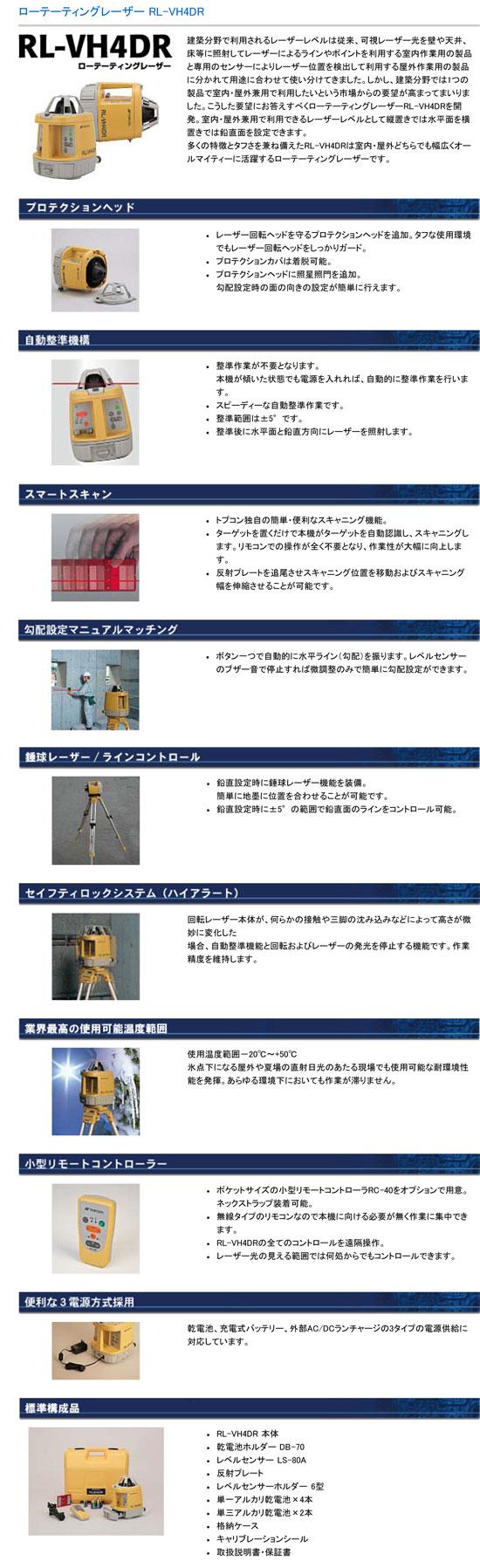 RL-VH4DR 詳細説明