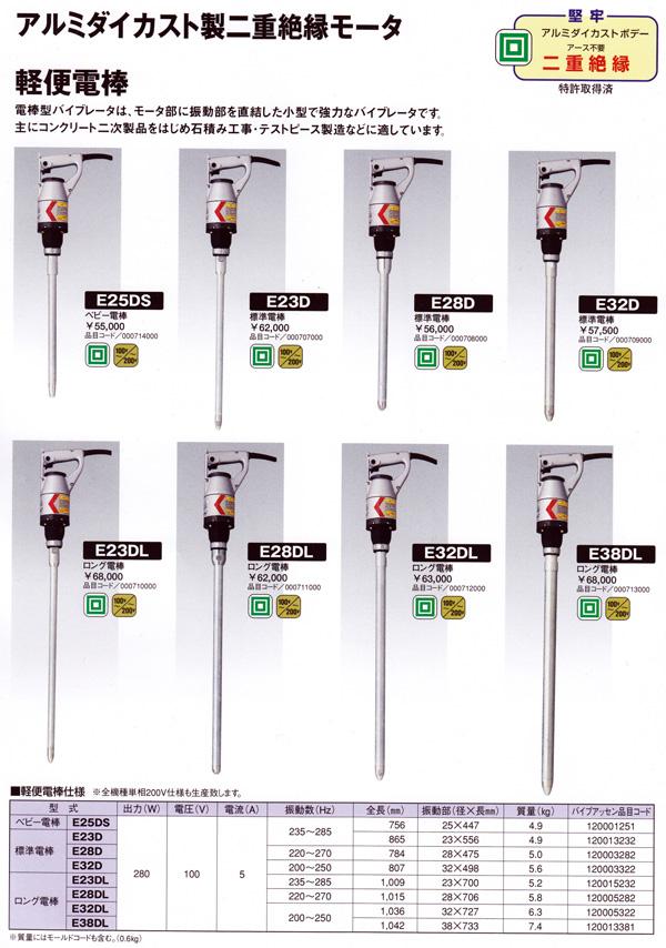 軽便電棒 規格